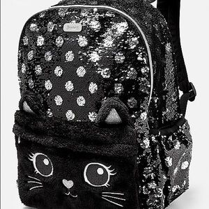 NWT Justice backpack with reversible sequins